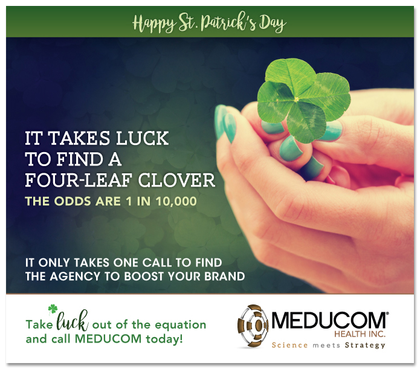 Happy St. Patrick's Day from MEDUCOM!