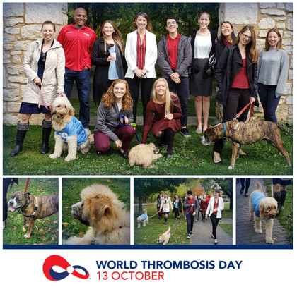 This Sunday October 13th is World Thrombosis Day