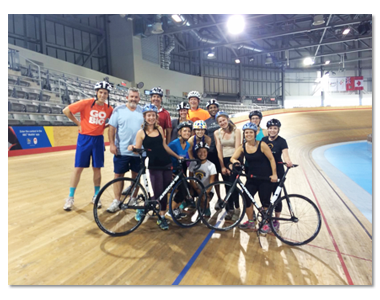 Olympians in the Making? MEDUCOM Goes to the Velodrome!