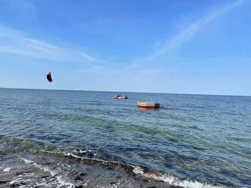 Kitekurs auf Fehmarn zwei KITETRAINER