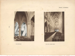 Blessed Virgins 395: Truro Cathedral, the baptistry and the nave looking west