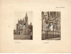 Blessed Virgins 391: Truro Cathedral, the west front and the baptistry