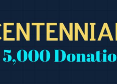 CENTENNIAL Level Donation