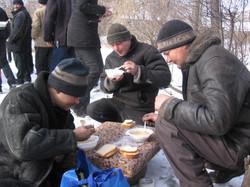 Помощь бездомным фонд Небо (14)