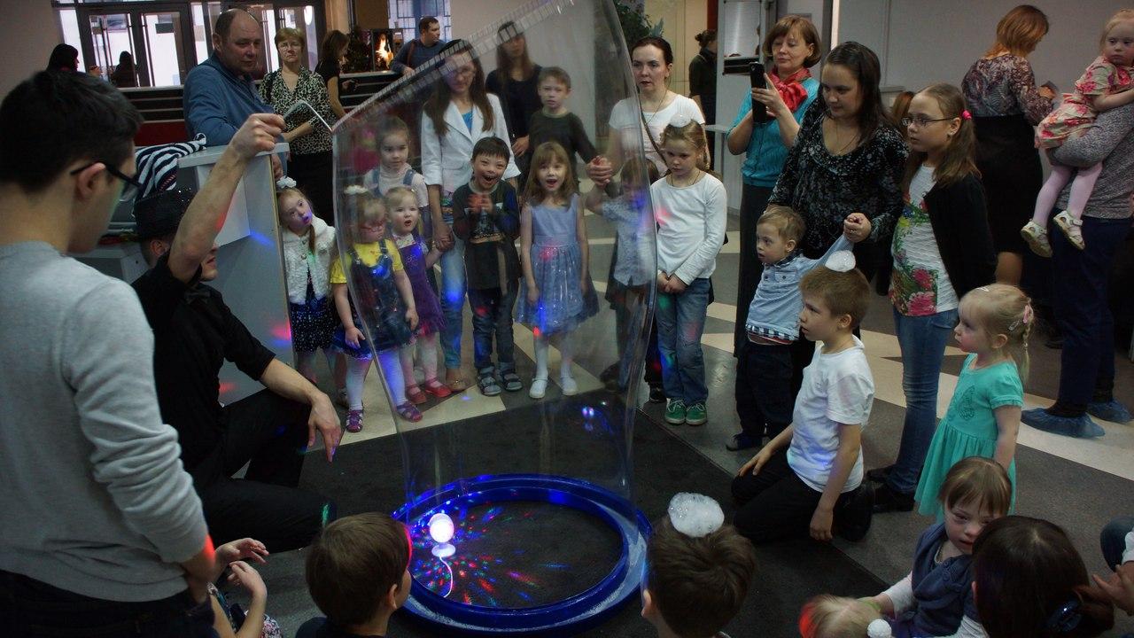 Шоу с пузырями