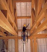 BIBS Insulation being installed