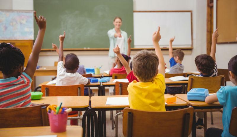 Pupils in the school