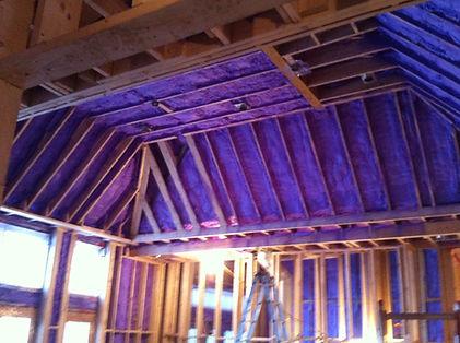 Walltite ECO Insulation Spray Foam in Home