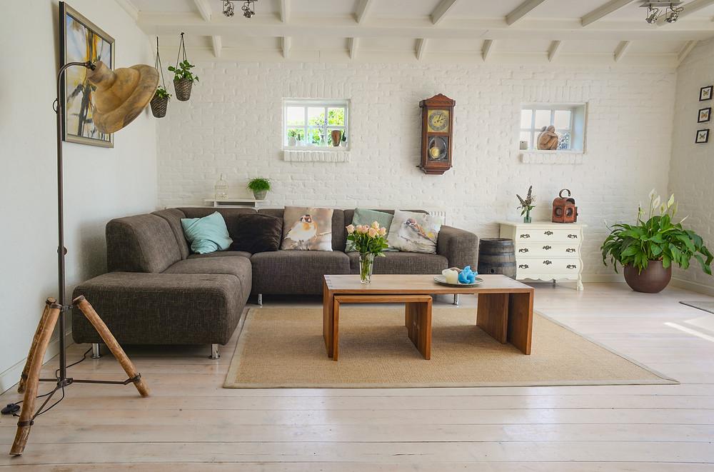 A warm, comfortable home