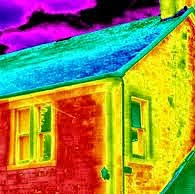 Georgian Insulation Systems utilizes a Thermal imaging camera to discover insulation and building en
