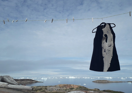 Puisi Kintsugi Dress#1 by Oïjha Couture