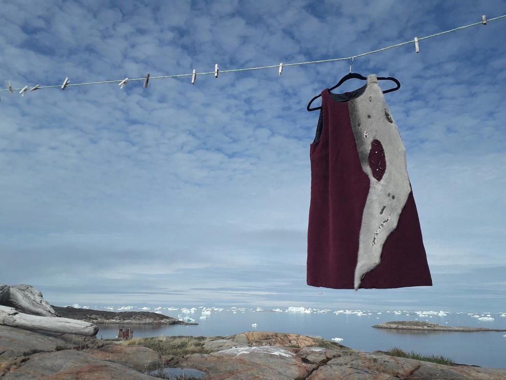 Puisi Kintsugi Dress#4 by Oïjha Couture
