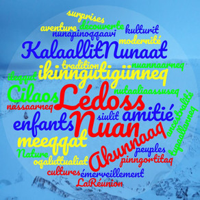 NUAN Lé doss! échanges scolaires Groenland - La Réunion :-)