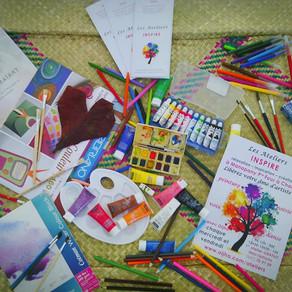 Pensées artistiques depuis les Ateliers INSPIRE