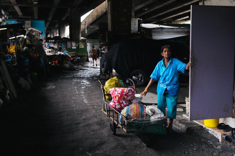 Khlong Toei neighborhood, Bangkok Thailand
