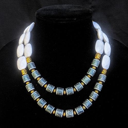 Celine Blue Necklace