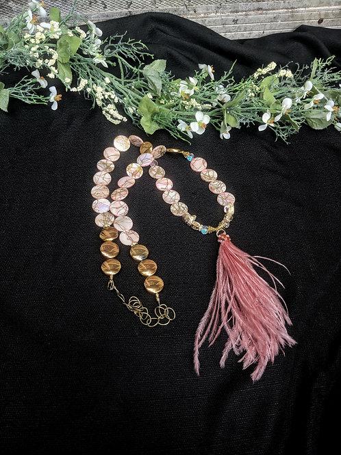 Iris Tassel Necklace