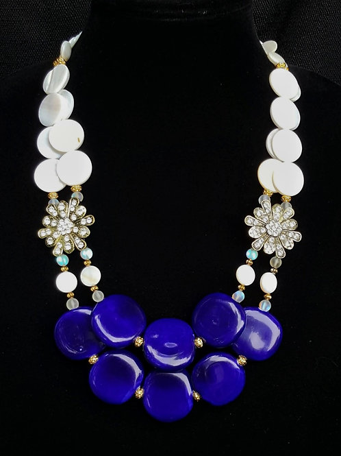 Zahra Blue Necklace