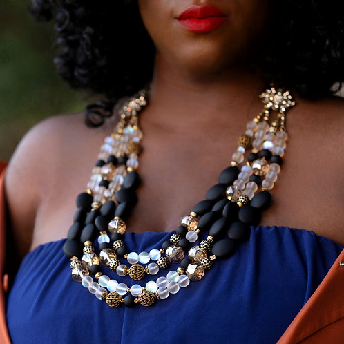 Royalty Statement Necklace