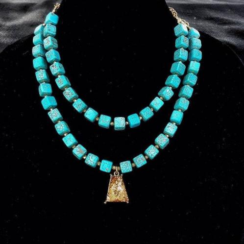 Eliza Turquoise Necklace