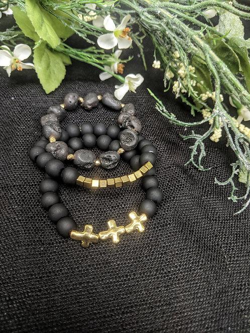 Sadie Stackable Bracelet Set