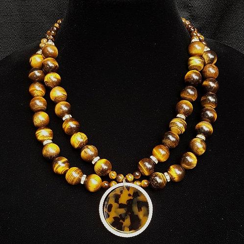 Sariyah Tiger Eye Necklace