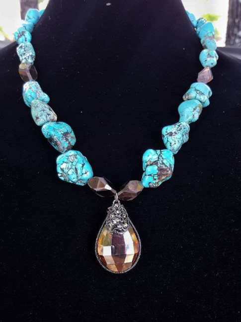 Lilah Turquoise Necklace