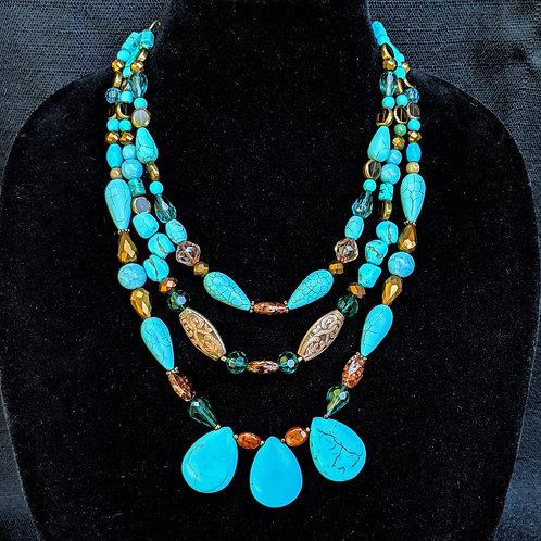 Talia Teardrop Necklace