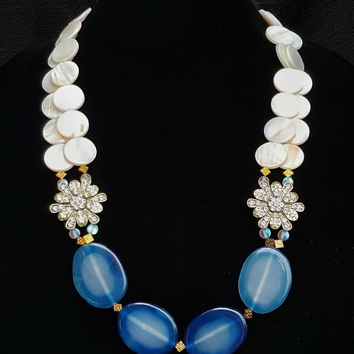 Zaniyah Blue Necklace