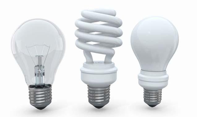 Todo o tipo de lâmpadas