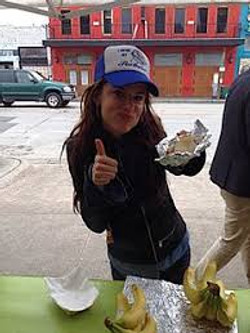 JULIETTE LEWIS LOVES TACOBABY! #SXSW