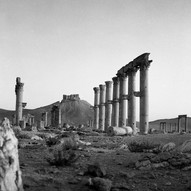 Great Colonnade, Mortuary Temple and the Arab Castle (Qalat'ibn Maan)