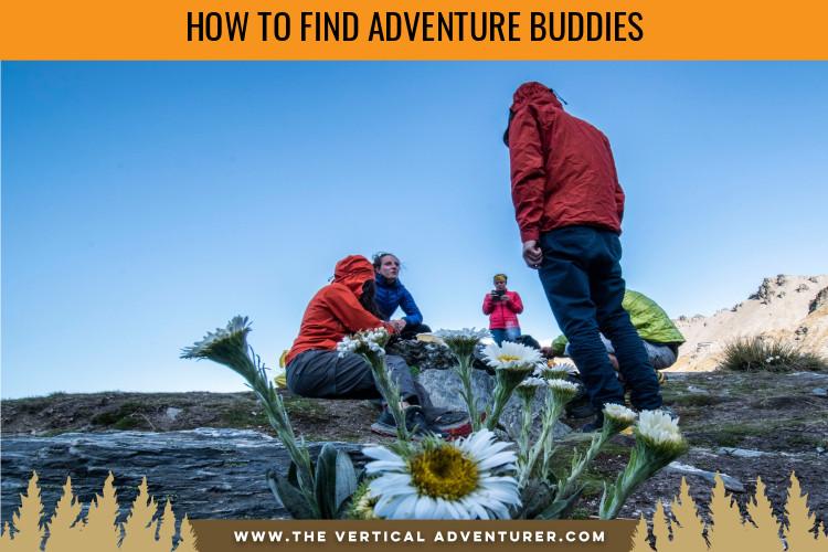 How to Find Adventure Buddies