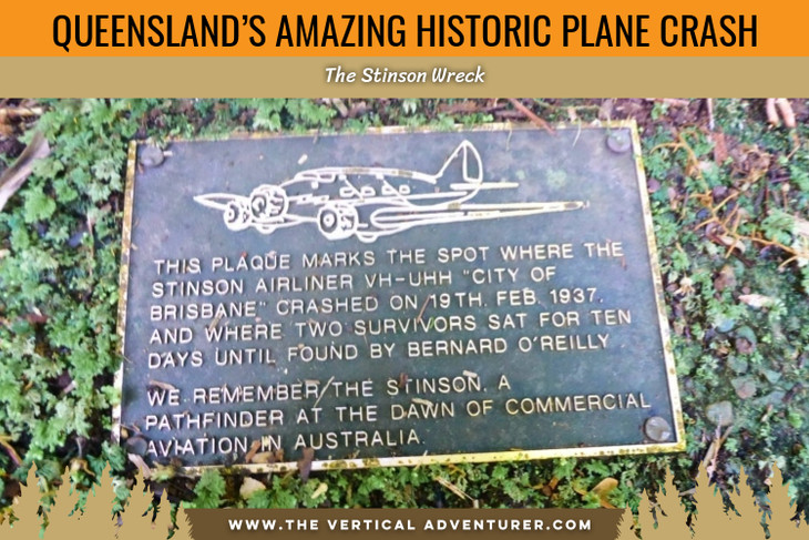 Queensland's Amazing Historic Plane Crash. The Stinson Wreck