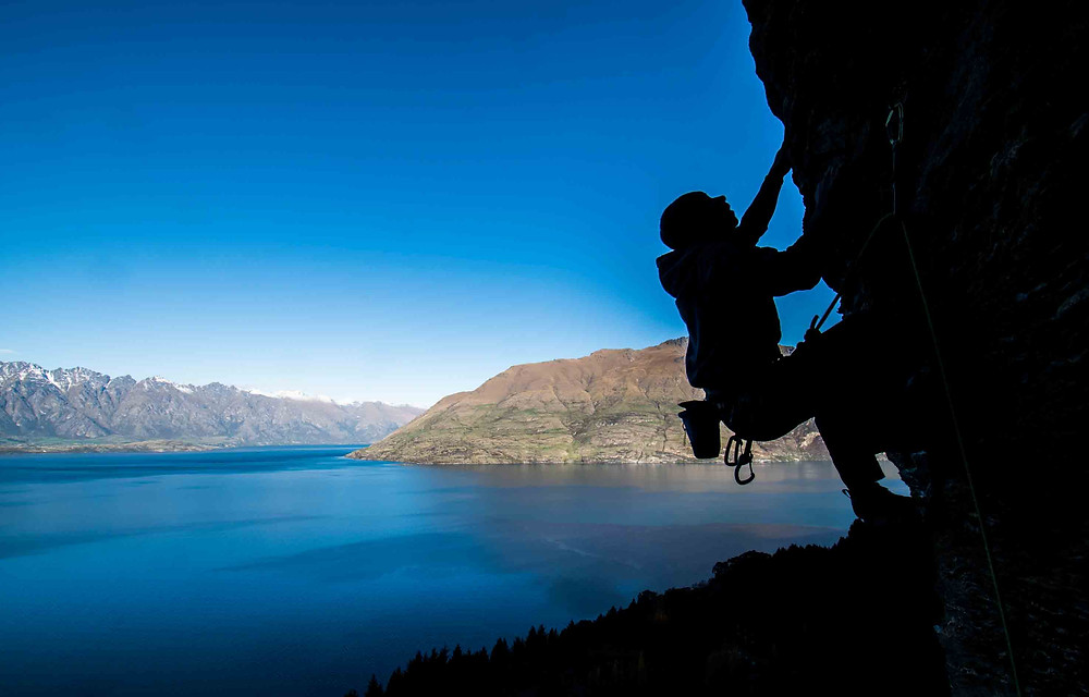climbing and dealing with fear