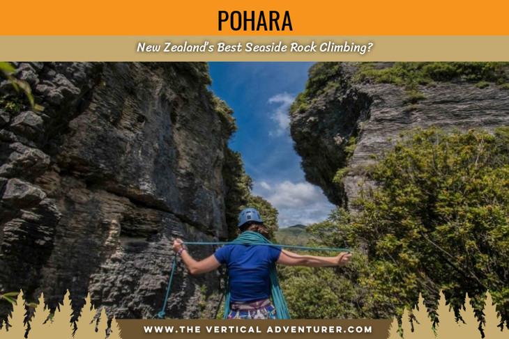 Pohara. New Zealand's Best Seaside Rock Climbing?
