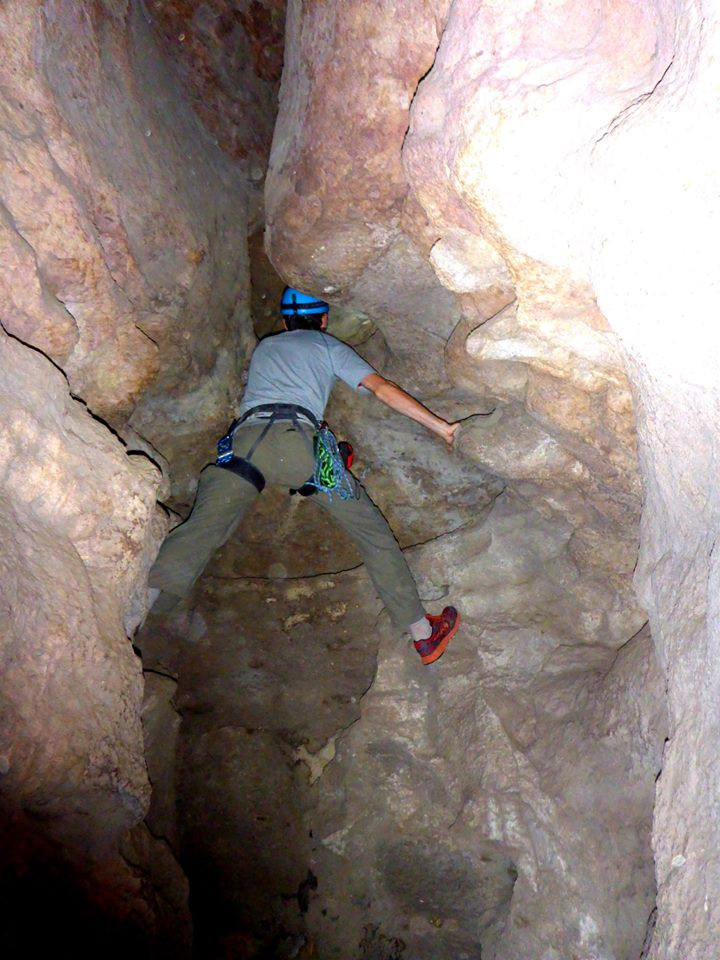 exploring caves and release the inner kid