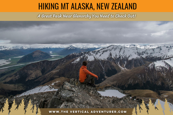 Hiking Mt Alaska in New Zealand