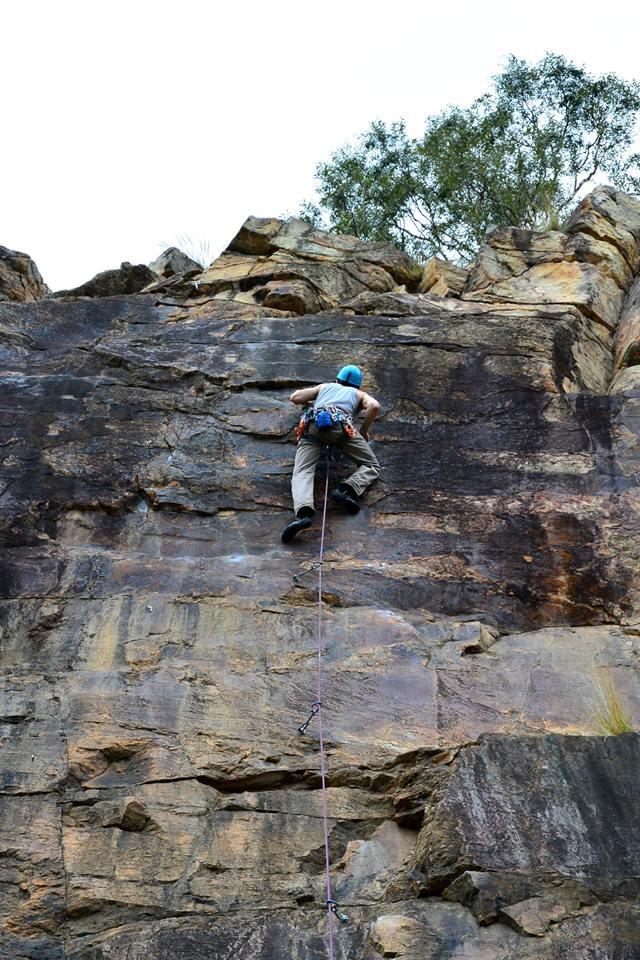 Kangaroo Point climbing