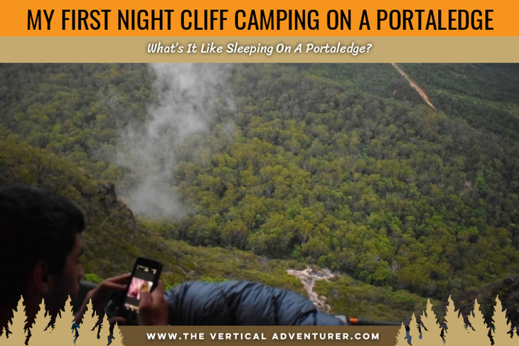 My First Night Cliff Camping On A Portaledge. What's It Like Sleeping On A Portaledge?