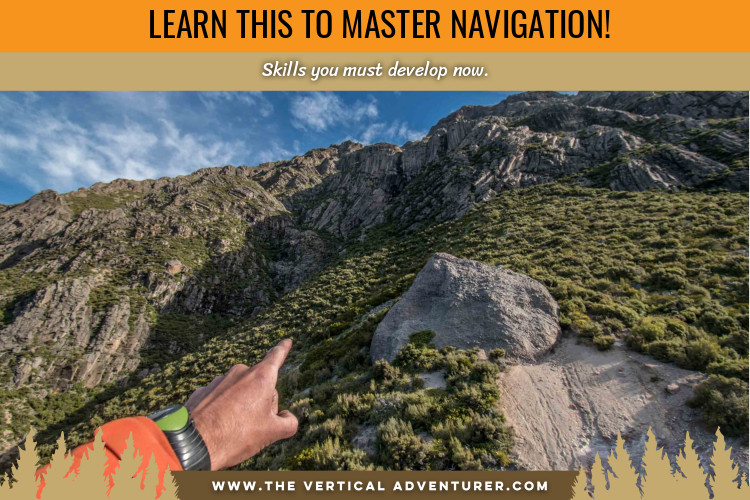 navigating with map