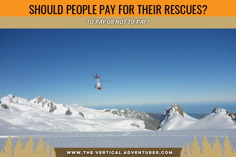 Should People Pay for Their Rescues?