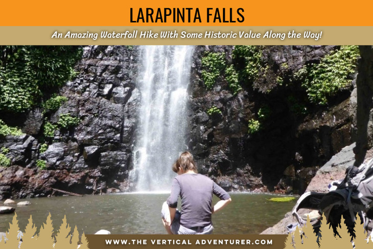 Larapinta Falls. An Amazing Waterfall Hike With Some Historic Value Along the Way!