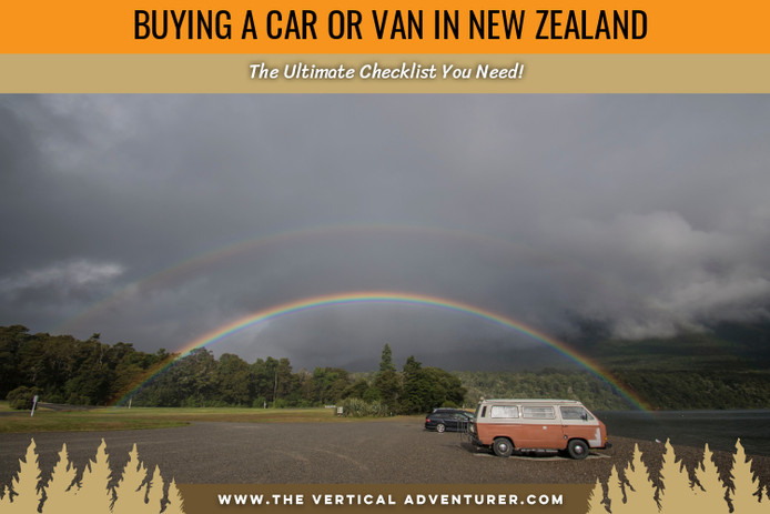 Buying a Car or Van in New Zealand