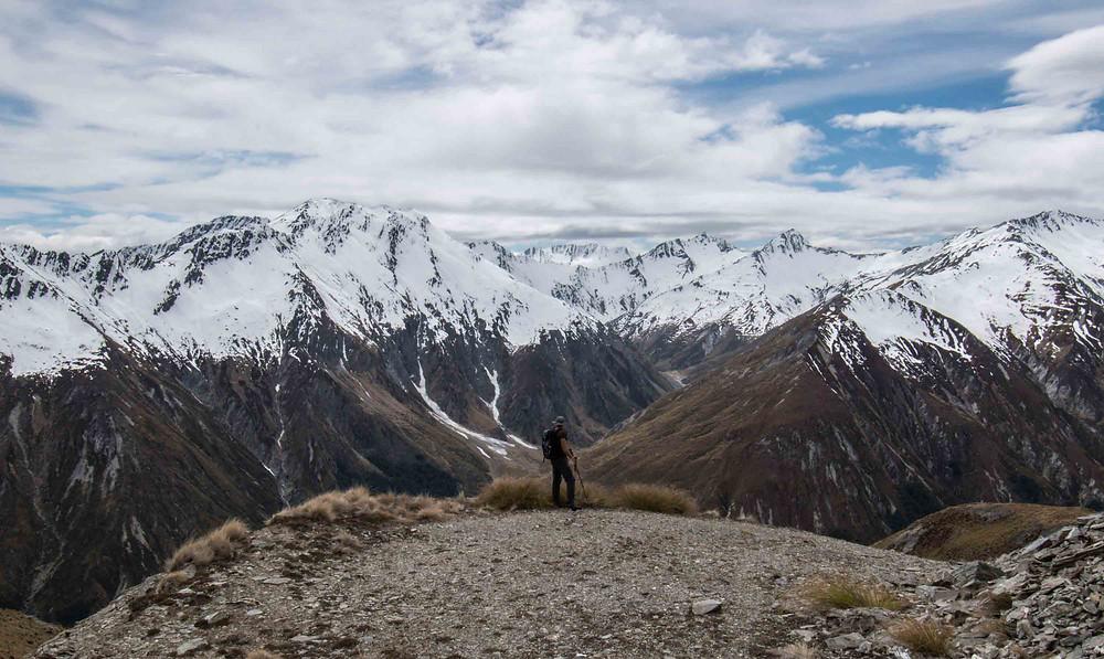 Hiking Mt Alaska in New Zealand
