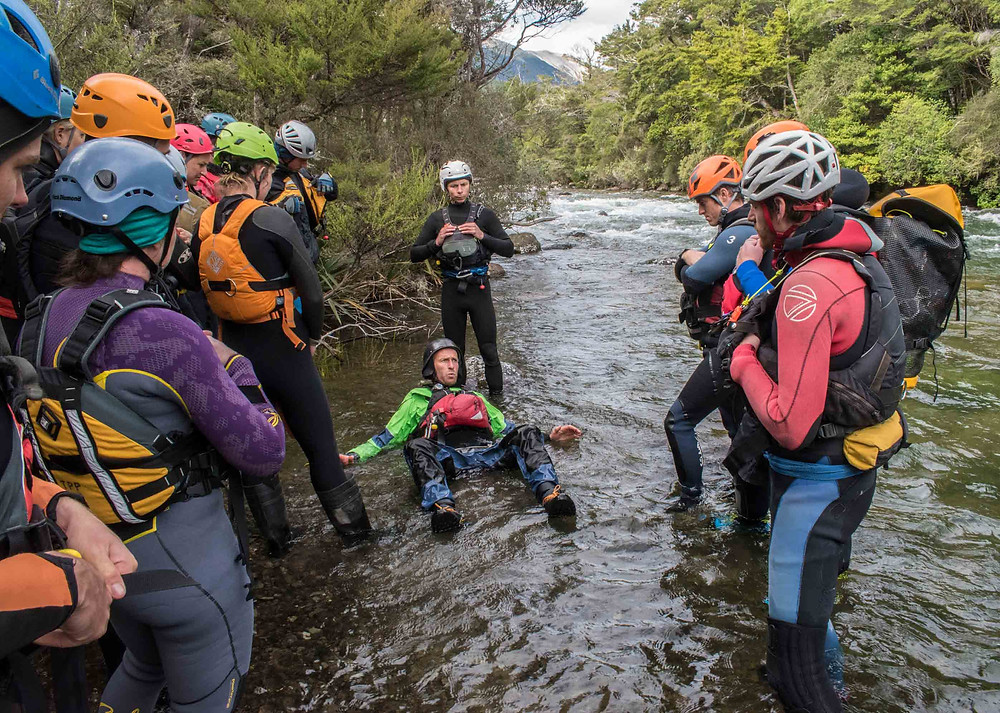 NZ canyoning festival