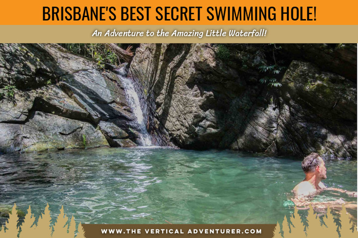 Brisbane's Best Secret Swimming Hole! An Adventure to the Amazing Little Waterfall!