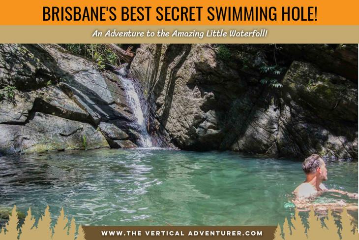 Brisbane's Best Secret Swimming Hole! An Adventure to the Amazing Little Waterfall!