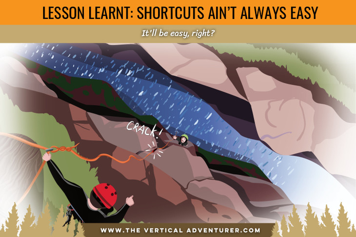 Lessons Learnt: Shortcuts Ain't Always Easy