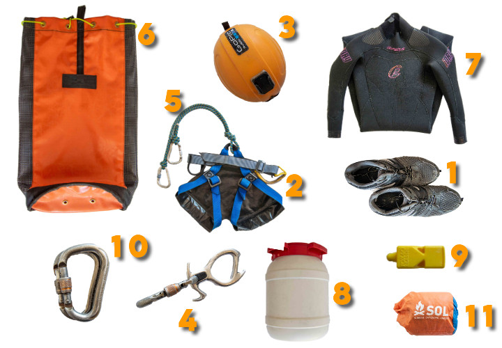 How Much Does it Cost to Start Canyoning? Your Canyoning Gear Setup Guide!
